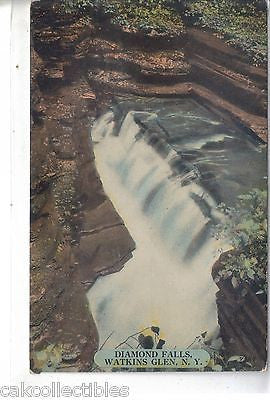 Diamond Falls-Watkins Glen,New York - Cakcollectibles
