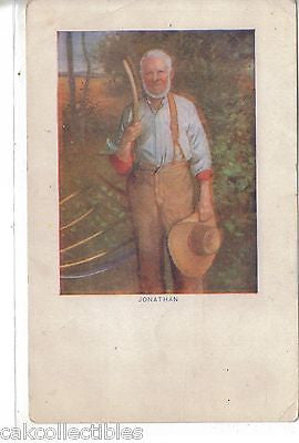 "Early Post Card-""Jonathan"" - Cakcollectibles"