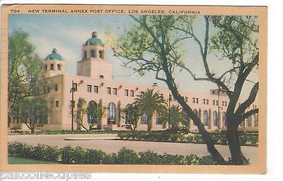 New Terminal Annex Post Office-Los Angeles,California 1946 - Cakcollectibles