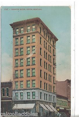 Hirbour Block-Butte,Montana 1908 - Cakcollectibles