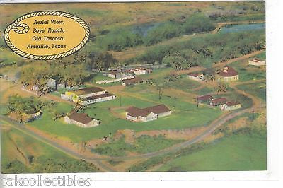 Aerial View-Boys' Ranch,Old Tascosa-Amarillo,Texas - Cakcollectibles