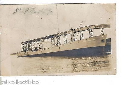 RPPC-Freighter Earl A. Bloomquist 1951 - Cakcollectibles - 1