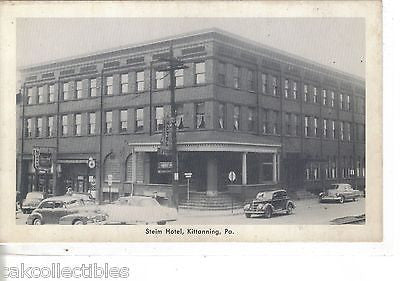 Steim Hotel-Kittanning,Pennsylvania - Cakcollectibles - 1