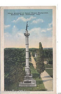 Illinois Monument at General Bragg's Headquarters,Missionary Ridge-Chattanooga - Cakcollectibles