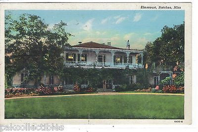 Elmscourt.-Natchez,Mississippi - Cakcollectibles