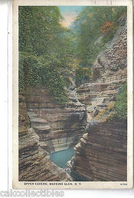 Upper Cavern-Watkins Glen,New York 1928 - Cakcollectibles