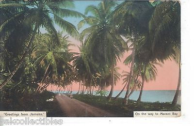 "On The Way to Morant Bay-""Greetings from Jamaica"" - Cakcollectibles"