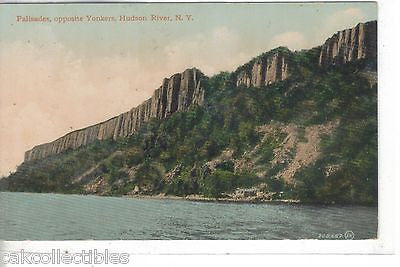 Palisades,opposite Yonkers-Hudson River,New York - Cakcollectibles