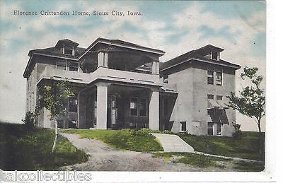 Florence Crittenden Home-Sioux City,Iowa - Cakcollectibles - 1