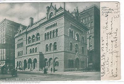 Post Office-Syracuse,New York 1905 - Cakcollectibles