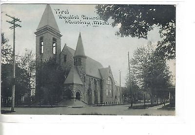 First Baptist Church-Lansing,Michigan 1911 - Cakcollectibles - 1