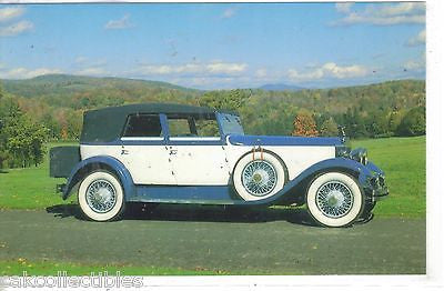 1929 Rolls-Royce Phantom I Convertible Sedan - Cakcollectibles
