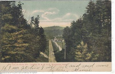 The Cut at White Mtn. Transfer,B. & M. R.R.-Woodsville,New Hampshire 1906 - Cakcollectibles