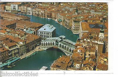 Aerial View of the Grand Canal and Rialto Bridge-Venezia-Italy - Cakcollectibles