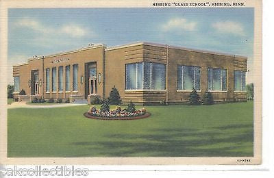 "Hibbing ""Glass School""-Hibbing,Minnesota - Cakcollectibles"