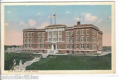 High School-Salem,Massachusetts - Cakcollectibles
