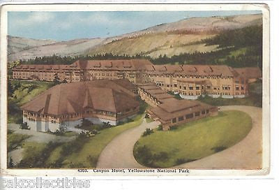 Canyon Hotel-Yellowstone National Park - Cakcollectibles