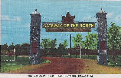 """ The Gateway"" - North Bay- Ontario, Canada Postcard - Cakcollectibles - 1"
