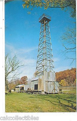 Drilling Rig at Drake Well Park-Titusville,Pennsylvania - Cakcollectibles