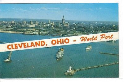 Cleveland, Ohio - Cakcollectibles