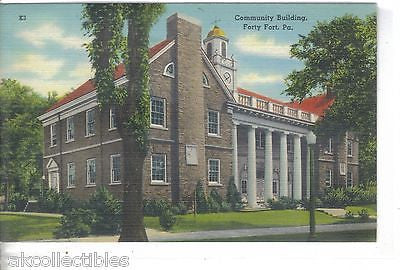 Community Building=Forty Fort,Pennsylvania - Cakcollectibles
