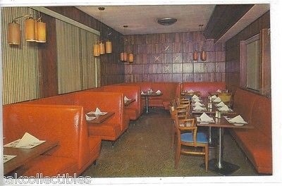 """The Red Room"",Buck's Famous Restaurant-Asheville,North Carolina - Cakcollectibles - 1"