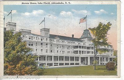 Stevens House,Lake Placid,Adirondacks,New York 1921 - Cakcollectibles