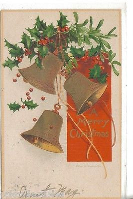 A Merry Christmas-Clapsaddle - Cakcollectibles - 1