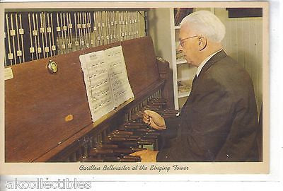 Carillon Bellmaster at The Singing Tower-Lake Wales,Florida - Cakcollectibles