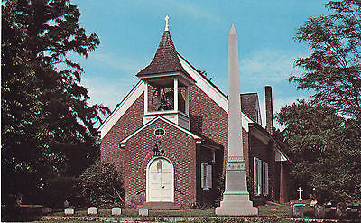 Old Christ Church Dover, Delaware Postcard - Cakcollectibles - 1