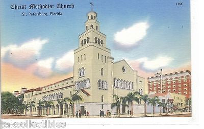 Christ Methodist Church-St. Petersburg,Florida - Cakcollectibles