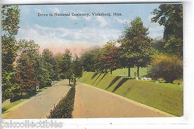 Drive in National Cemetery-Vicksburg,Mississippi - Cakcollectibles