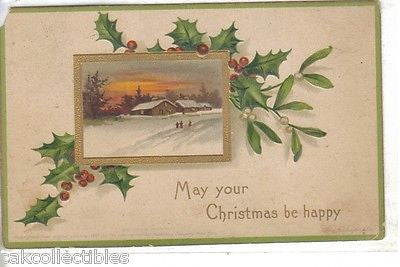 May Your Christmas by Happy-Clapsaddle - Cakcollectibles - 1