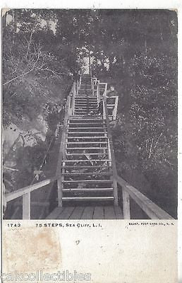 75 Steps-Sea Cliff,Long Island,New York UDB - Cakcollectibles