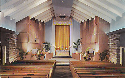Church-By-The-Sea In Bal Harbour Miami Beach,Fla. Postcard - Cakcollectibles - 1