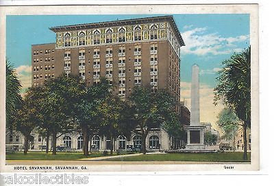 Hotel Savannah-Savannah,Georgia - Cakcollectibles