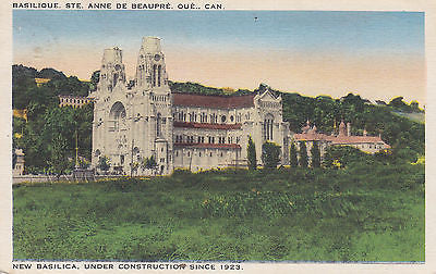 New Basilica, Under Construction Since 1923 Postcard - Cakcollectibles - 1