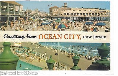 Greetings from Ocean City,New Jersey - Cakcollectibles