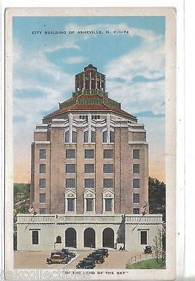 City Building of Asheville,North Carolina - Cakcollectibles
