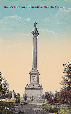 Brock's Monument, Queenstown Heights, Canada Postcard - Cakcollectibles - 1