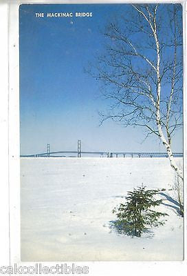 The Mackinac Bridge in Winter-Michigan - Cakcollectibles