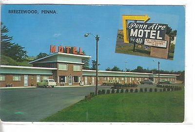 Penn Aire Motel Breezewood, Penna. - Cakcollectibles