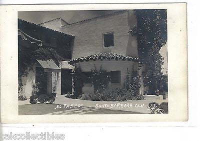 "RPPC-""El Paseo""-Santa Barbara,California - Cakcollectibles - 1"