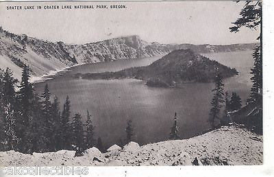 Crater Lake in Crater Lake National Park-Oregon - Cakcollectibles