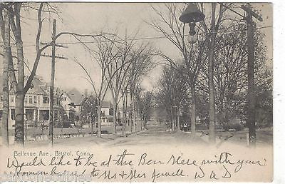 Bellevue Avenue-Bristol,Connecticut 1914 - Cakcollectibles
