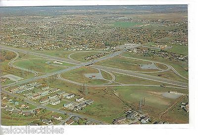Aerial View-Exit 51,New York Thruway-Buffalo,New York 1962 - Cakcollectibles