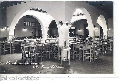 RPPC-Sanborns Restaurant-Monterey,Mexico - Cakcollectibles - 1