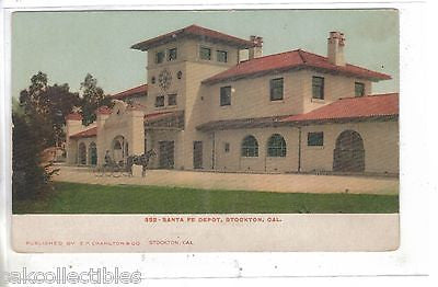 Santa Fe Depot-Stockton,California UDB - Cakcollectibles