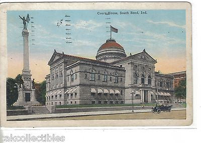 Court House-South Bend,Indiana 1927 - Cakcollectibles - 1