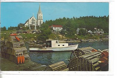 Boothbay Harbor,Maine-Boating Capital of New England 1964 - Cakcollectibles